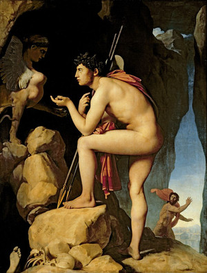 Ingres_odipus_and_sphinx