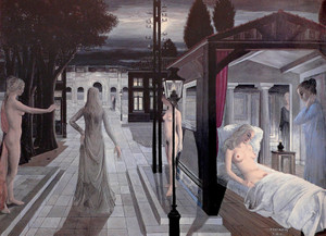 Paul_delvaux_the_sea_is_near1965
